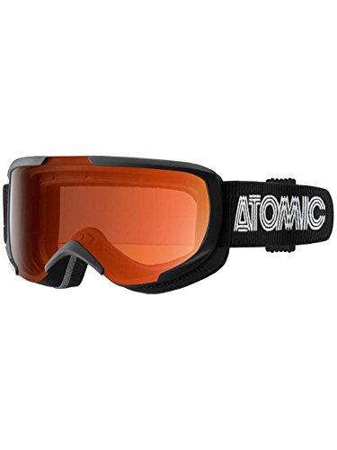 Occhiali da Neve da uomo Atomic Savor S Black Goggle, orange s1, Taglia unica