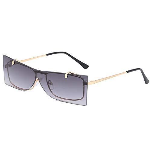 ANSKT Quadratische Flip-Sonnenbrille, 6UV 400 Outdoor-Sportbrillen polarisierte Sonnenbrillen Reitbrillen, geeignet zum Skifahren von Golf-Bikes beim Fischen mit Baseball