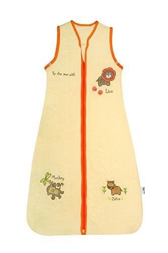 Schlummersack Baby Schlafsack Frühjahr/Herbst 1 Tog Zoo - 12-36 Monate/110 cm (Baby Mädchen Schlaf-kleidung)