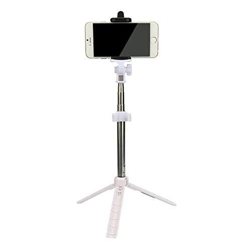 Fulltime E-Gadget Selfie Stange, Mini Wireless Bluetooth vertikale Stativ Stretch Multi-Funktion seit der Welle (Schwarz)