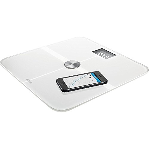 Withings Smart Body Analyzer - Báscula multifunción, con Wi-Fi para iOS y Android, color blanco