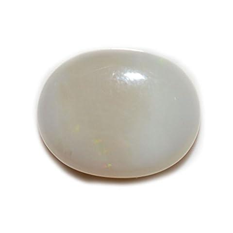 55carats Opale 6carats d'origine naturelle ovale Pierre précieuse de courroie