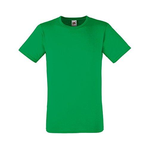 Fruit of the Loom Herren T-Shirt Kelly Green