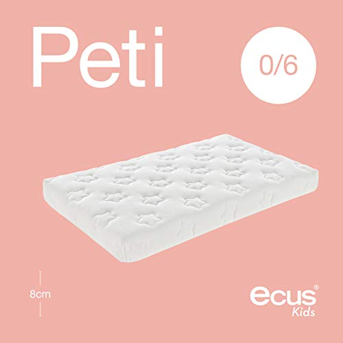 Ecus Kids Peti H-8 - Colchón de minicuna