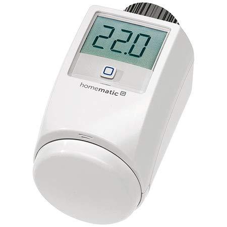 ELV Homematic IP Komplettbausatz Heizkörperthermostat HMIP-eTRV-2, für Smart Home/Hausautomation