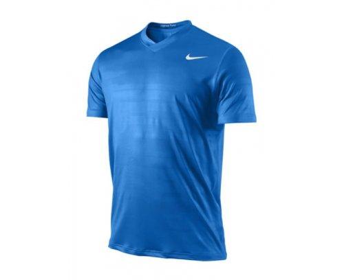 Nike Uomo Rafa Ace Jacquard Top 405980–406Small Tennis da uomo blu