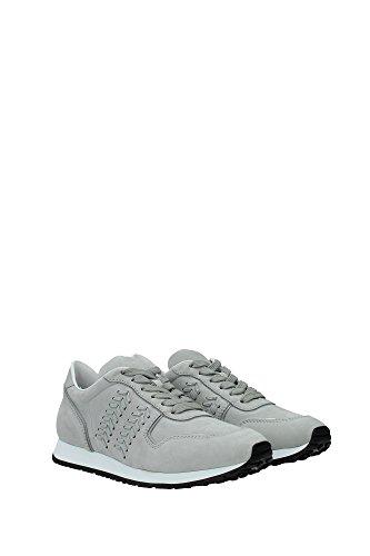 XXW0YO0P6706AXB219 Tod's Sneakers Femme Chamois Gris Gris