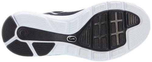 Nike  Lunarglide +5, Chaussures homme Noir (noir/blanc/gris foncé)