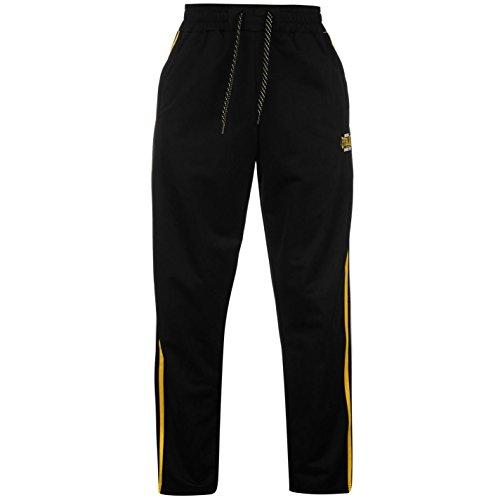 Everlast -  Pantaloni sportivi  - Uomo Nero / Giallo XX-Large