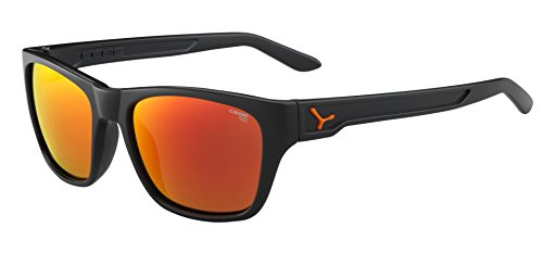 e31176cc77 Cebe Hacker Sunglasses, Matt Grey/Orange, Medium