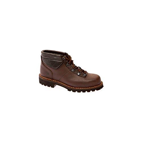 Gaston Mille - Chaussures de sécurité montage cousu JURA SBP WRU HI HRO Marron