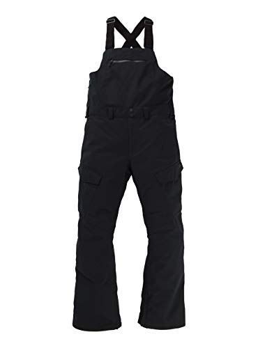 Burton Herren Reserve Bib Snowboard Hose, True Black, XXL