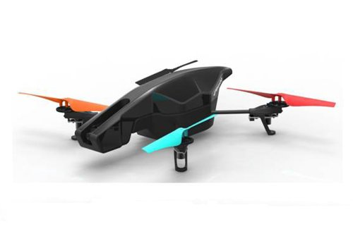 Parrot AR.Drone 2.0 Power Edition Quadrocopter (geeignet für Android-/Apple-Smartphones und -Tablets) rot - 13