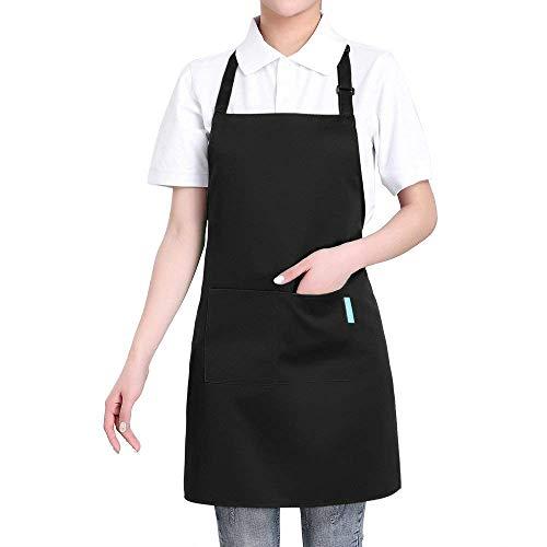 Esonmus Delantal Cocina poliéster Tira