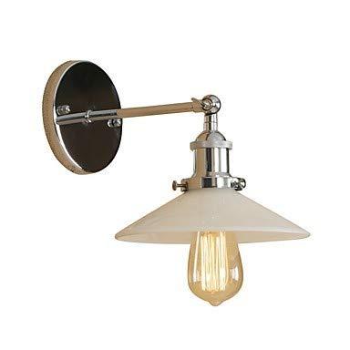 VLING Wandlampe, Mini Style Retro/Vintage/Modern/Modern Wandlampen & Wandlampen Wohnzimmer/Shops/Cafés Metall Wandleuchte 110-240V 40W, Silber