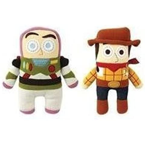 Disney Toy Story 3 Pook-a-looz Buzz Lightyear & Woody Plush Toy Figure Set by Disney