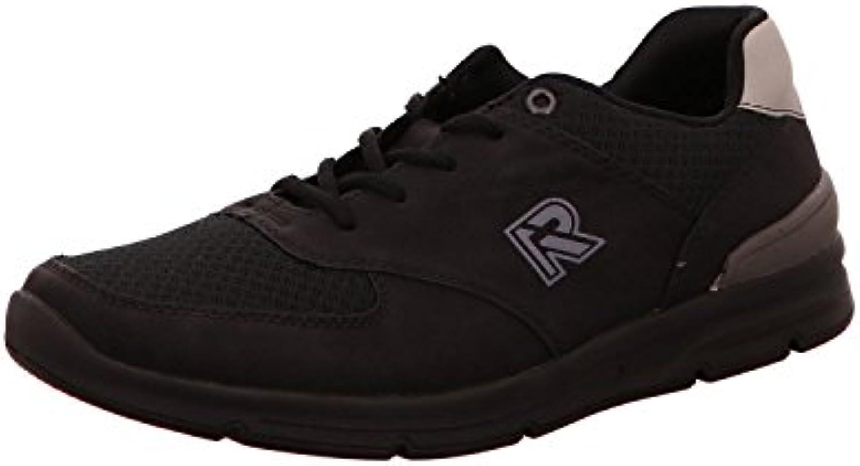 Rieker 16402-00 - Zapatos de Cordones Para Hombre Negro Negro -