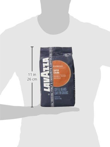 Lavazza Super Crema Coffee Beans (1kg)