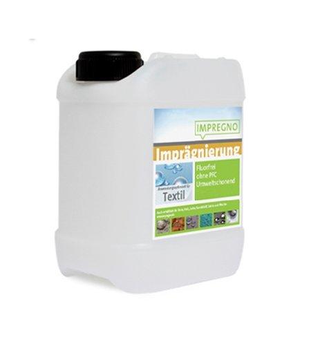 IMPREGNO Imprägnierung Textil 2,5 Liter Imprägniermittel Schutz Pflege fluorfrei umweltfreundlich Waterproof -
