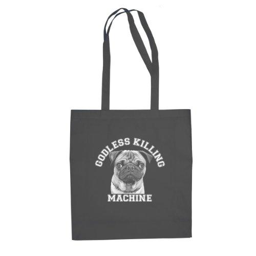 Godless Killing Machine - Stofftasche / Beutel Grau