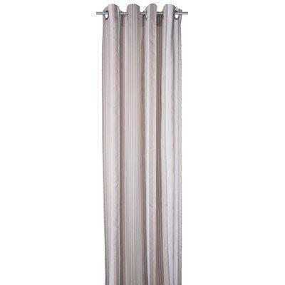 TOM TAILOR 562455 Ösenschal T-Pastel Stripes, 140 x 245 cm, beige / rosa