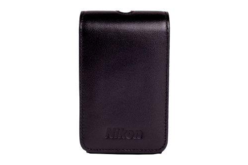 Nikon ALM230103 Kunstleder-Schutzhülle für Coolpix S9300 S9050/S9400/P310-schwarz (Nikon Kamera S9600 Coolpix)
