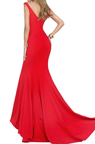 Victory Bridal - Robe - Crayon - Femme Rouge - Rouge
