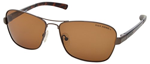 Park Avenue UV Protected Square Unisex Sunglasses - (431| 56| Brown Lens)  available at amazon for Rs.3750