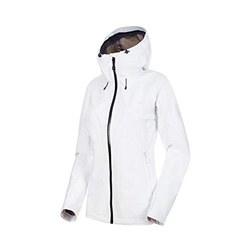 Mammut Damen Convey Tour Hardshell-Jacke Mit Kapuze, Bright White-Black, S
