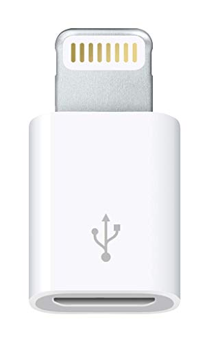 Apple Adaptador de conector Lightning a micro USB