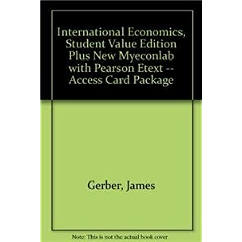 International Economics + New Myeconlab With Pearson