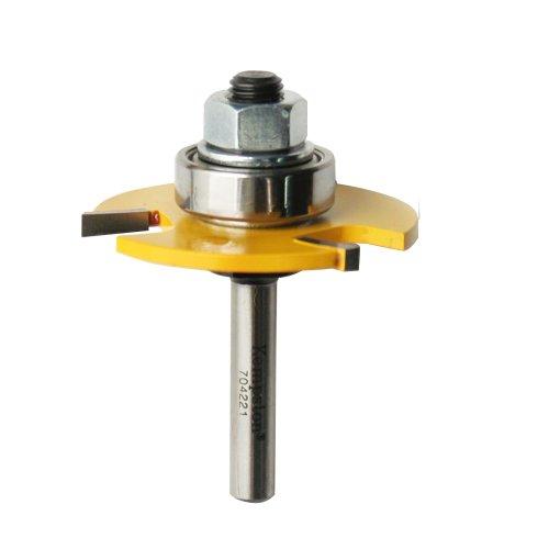 Kempston 7042213-wing Slot Cutter, 1/4-Zoll-Schaft, 1–7/8Zoll Schneiden Durchmesser, 1/8Zoll Länge 1/8Zoll Länge