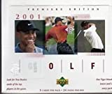 2001 Upper Deck Golf Retail RED Box 24 packs TIGER WOODS R/C, R/C Auto card? by 2001 Upper Deck Golf Trading Cards
