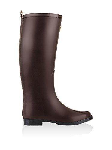 Superga - 771 Rbrw, Stivali di gomma Donna BROWN MATT