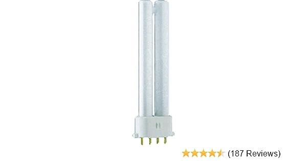 Osram Dulux S//E 11W Cool White 4000k 4 pin S//E11W//840 Fluorescent Light Bulb