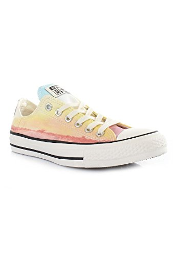 Converse All Star Ox Femme Baskets Mode Multicolore Jaune