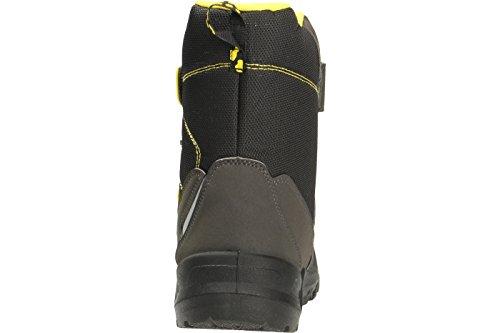 Lurchi 33-31000-31, Bottes pour Garçon Noir/jaune