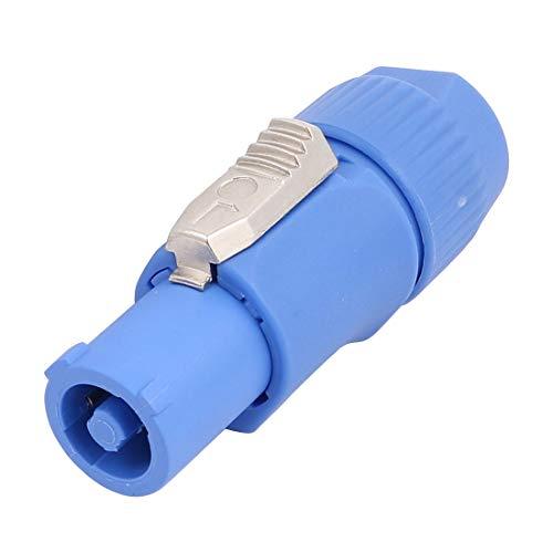 sourcing map NW3FCA AC Leistung Anschluss Steckverbinder CBL End-In für Stereo Audio Blau Stereo-audio-cbl
