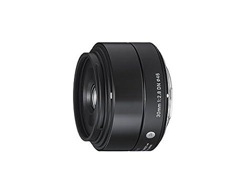 Sigma 30mm f2,8 DN Objektiv (Filtergewinde 46mm) für Sony E-Mount Objektivbajonett schwarz