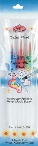 Royal Brush bkflo-200Big Kid 's Choice Aqua-flo Pinsel-Set, Mehrfarbig -