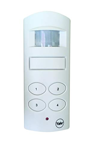 Yale SAA5015 Wireless Alarm, Protects Sheds, Garages, Caravans and Outbuildings, Free Standing or Wall-Mounted, White