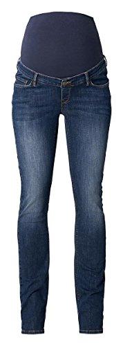 ESPRIT Maternity Damen Umstandsjeans Relaxed Jeans Baggy-Fit-Umstandsjeans Boyfriend (W26/L32 (Herstellergröße: 34/32), Medium Wash) -