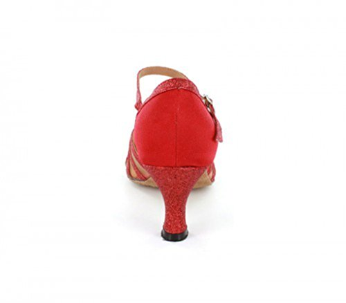 TDA Tanzschuhe Damen TDA 6cm Red Damen RP4wqw