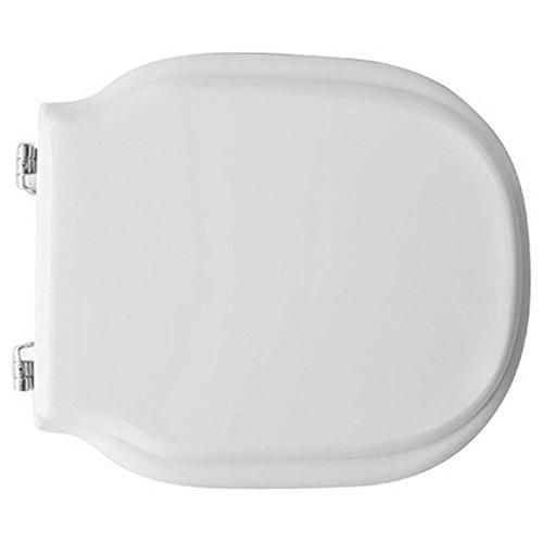 Copriwater coprivaso tavoletta sedile wc per globo vaso modi' bianco