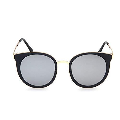 Exquisite Cat Eyes Lady Polarisierte Sonnenbrille TR90 UV-Schutz für das Fahren. Brille (Farbe : Sliver)