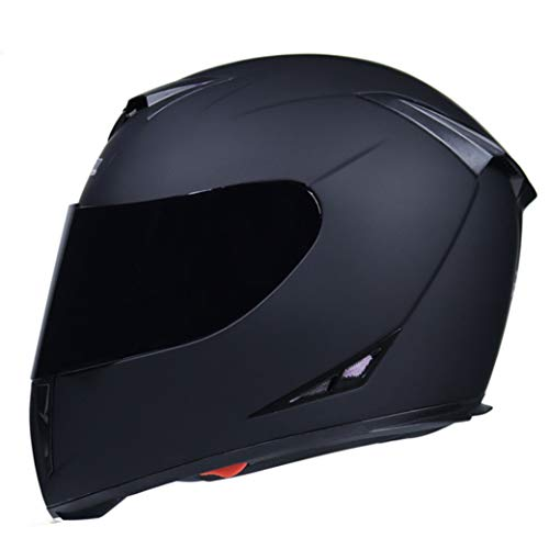 Sicherheit Doppel Objektiv Motorradhelm Männer Modular Motocross Helme Mit Innerer Sonnenblende Frauen Off Road Racing Vollgesichtsmotorradhelm - Mohawk Helm Fahrrad