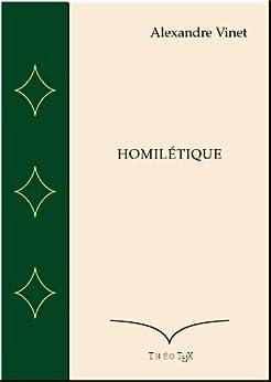 Homilétique par [Vinet, Alexandre]