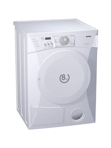Gorenje D 60.9 Kondenstrockner/ B / 117 Liter / 282 kWh/Jahr / 8 kg / LED Display / weiß