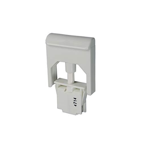 Liebherr 6060062 ORIGINAL Tastenschalter Drucktastschalter Schaltelement Lampenschaltelement Tastschalter Schalter 1-fach fürs Licht Getränke Kühlschrank Kühlautomat Kühlgerät Kühlteil Kühlmöbel
