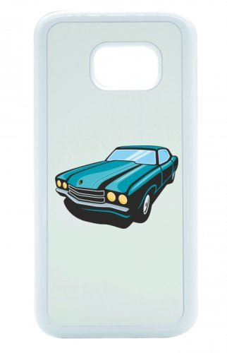 Smartphone Case Hot Rod Sport carrello auto d epoca Young Timer shellby Cobra GT muscel Car America Motiv 9821per Apple Iphone 4/4S, 5/5S, 5C, 6/6S, 7& Samsung Galaxy S4, S5, S6, S